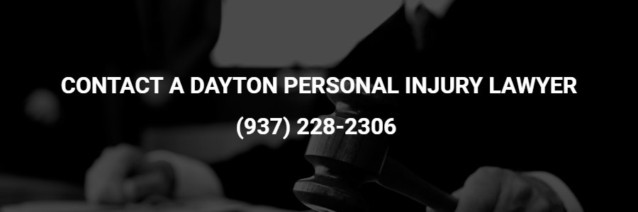 Dayton personal injury attorney